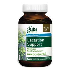 Gaia Herbs Lactation Support