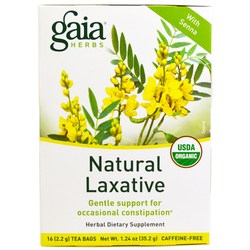 Gaia Herbs Natural Laxative Tea