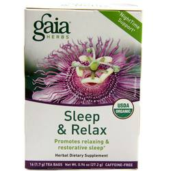 Gaia Herbs Sleep and Relax Tea