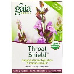 Gaia Herbs Throat Shield Tea