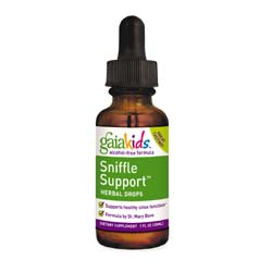 Gaia Herbs Kids Sniffle Support Herbal Drops