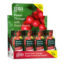 Gaia Herbs Herbal Energy Plus Immune Support Shots