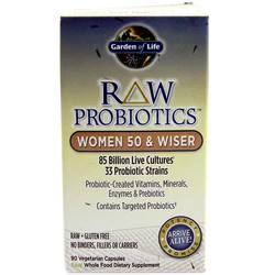 Garden of Life RAW Probiotics Women 50 and Wiser