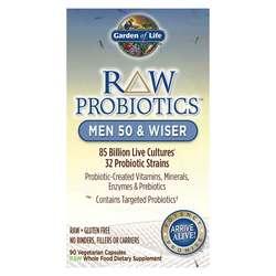 Garden of Life RAW Probiotics Men 50 and Wiser