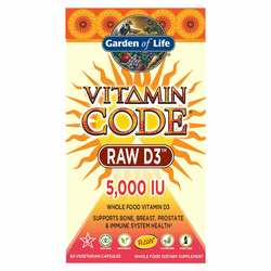 Garden of Life Vitamin Code Raw D3 5-000 IU