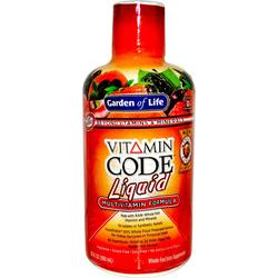 Garden of Life Vitamin Code Liquid Multivitamin