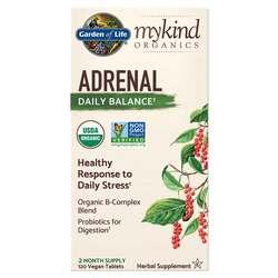 Garden of Life mykind Organics Adrenal Daily Balance Formula