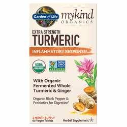 Garden of Life mykind Organics Turmeric Extra Strength Inflammatory Response Formula