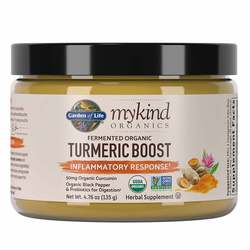 Garden of Life mykind Organics Turmeric Boost Inflammatory Response Powder