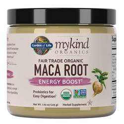 Garden of Life mykind Organics Fair Trade Maca Root Energy Boost Powder