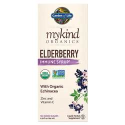 Garden of Life mykind Organics Elderberry Immune Syrup
