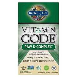 Garden of Life Vitamin Code Raw K Complex 120 mcg