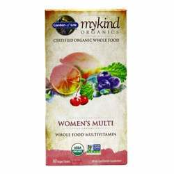 Garden of Life mykind Organics Women's Multivitamin
