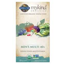 Garden of Life mykind Organics Men's 40+ Multivitamin