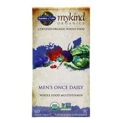 Garden of Life mykind Organics Men's Once Daily Whole Food Multivitamin