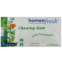 Genestra HomeoFresh Chewing Gum