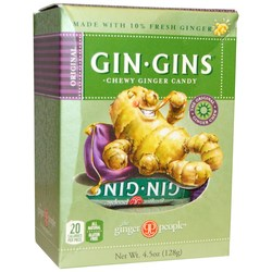 Ginger People Gin-Gins Chew Ginger Candy