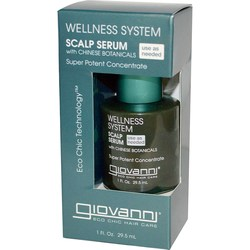 Giovanni Hair Care Products Wellness System Scalp Serum