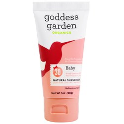 Goddess Garden Baby Natural Sunscreen