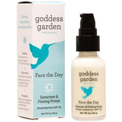 Goddess Garden Face The Day Sunscreen  Firming Primer