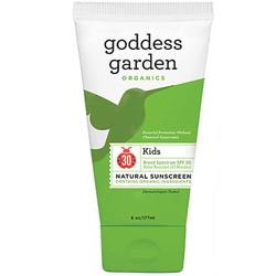 Goddess Garden Kid's Natural Sunscreen