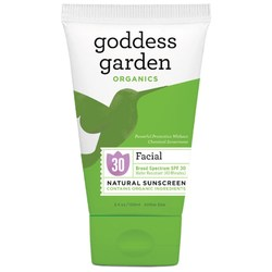 Goddess Garden Natural Facial Sunscreen