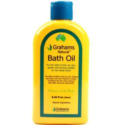 Grahams Natural Bath Oil