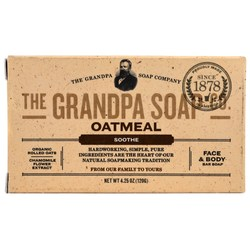 Grandpa's Face  Body Bar Soap