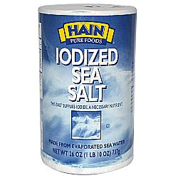 Hain Iodized Sea Salt