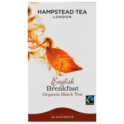 Hampstead Tea English Breakfast Organic Black Tea