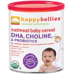 Happy Baby Happy Bellies Oatmeal Cereal (6 Pack)