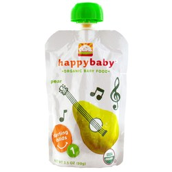 Happy Baby Organic Baby Food Stage 1 Starting Solids