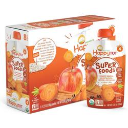 Happy Tot Organic Superfoods Fruit and Vegetable Mixes