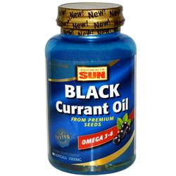 Health From the Sun Black Currant Oil
