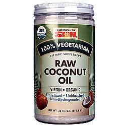 Health From the Sun Organic Raw Coconut Oil