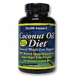 Health Support Coconut Oil Diet Softgels