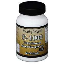 Healthy Origins E - 1000 IU Mixed Tocopherols