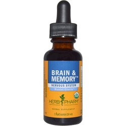 Herb Pharm Brain  Memory Tonic