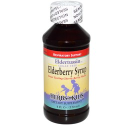 Herbs for Kids Eldertussin Elderberry Syrup