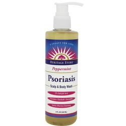 Heritage Products Psoriasis Scalp  Body Wash