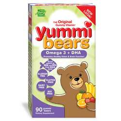 Hero Nutritionals Yummi Bears Children's Omega 3 + DHA