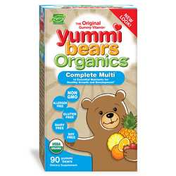 Hero Nutritionals Yummi Bears Organics Complete Multi-Vitamin