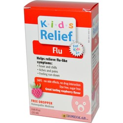 Homeolab USA Kids Relief Flu