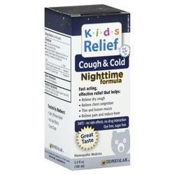 Homeolab USA Kids Relief Cough  Cold Nighttime Formula