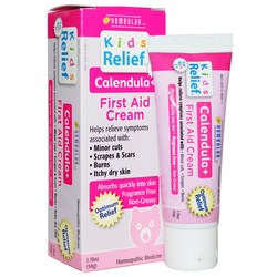 Homeolab USA Kids Relief Calendula + Pain Cream