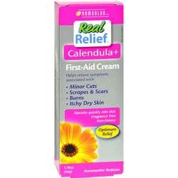Homeolab USA Real Relief Calendula+ First Aid Cream