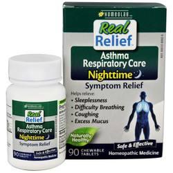 Homeolab USA Nighttime Asthma Respiratory Care