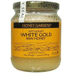 Honey Gardens White Gold Raw Honey