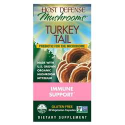Host Defense Turkey Tail - Immune Support