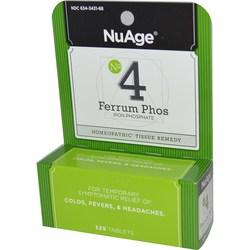 Hyland's NuAge No 4 Ferrum Phos